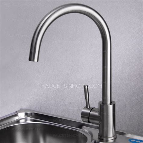 stainless steel faucet kitchen safe stainless steel brushed nickel kitchen faucets rotatable