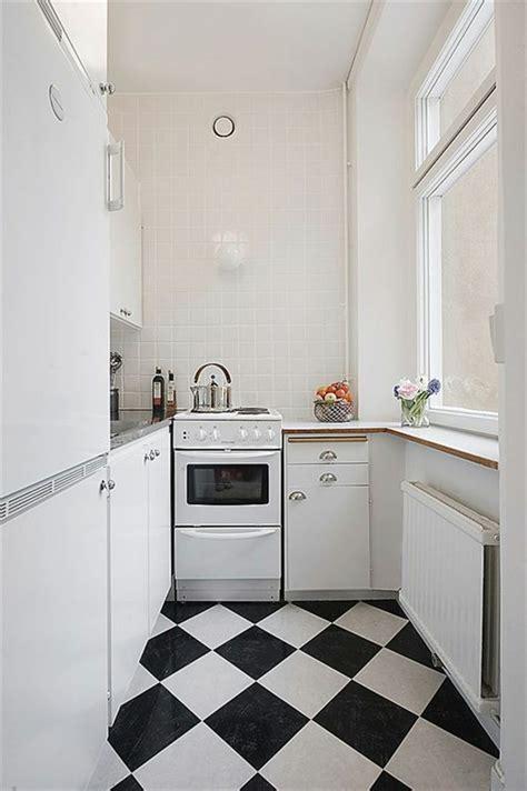 sols cuisine carrelage noir et blanc 25 idées originales