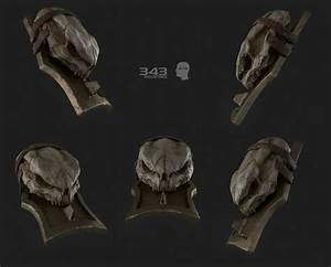 Tartarus Skull Shoulder Plate | Halo 2 Anniversary Blur ...