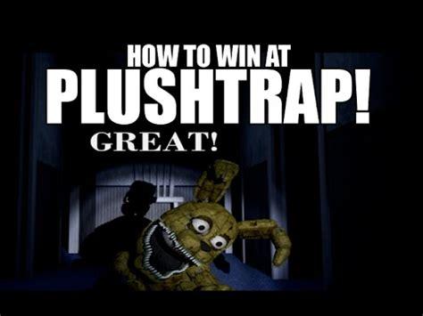 How To Beat Plushtrap  Win The Plushtrap Game  Fnaf 4
