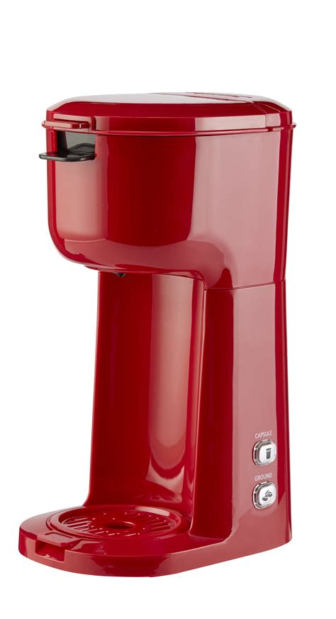 Find the best coffee makers for your kitchen. Mainstays Single Serve and K-Cup Brew Coffee Maker, Red - Walmart.com - Walmart.com