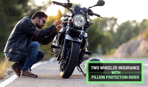 The general rules of insurance is every car on road must be insured so that in an accident scenario cost of repairs etc repairs bill etc will be always passed on person who is wrong and if you are insured that wont be a problem your insurance company will foot. Two Wheeler Insurance with Pillion Protection Rider - Benefits & Features