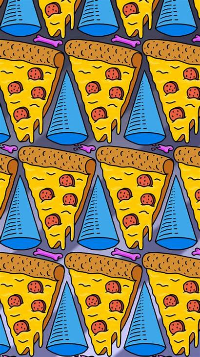 Iphone Wallpapers Dope Crazy Cool Pizza Pattern