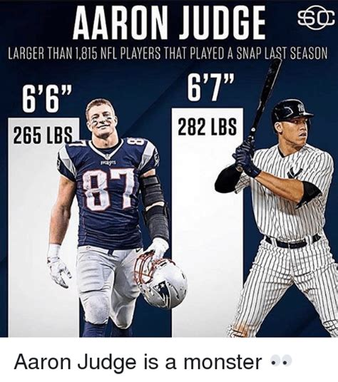 aaron judge funny aaron freaking judge is a beast sports discussion off
