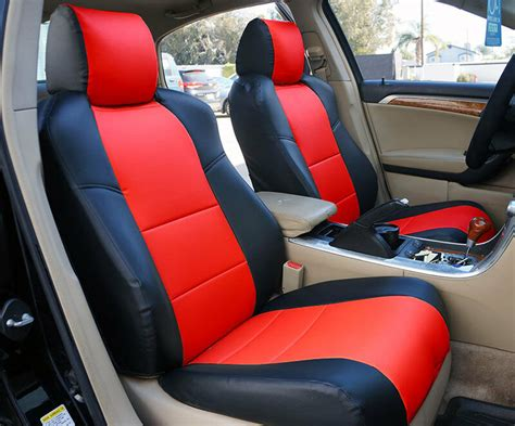 Acura Tsx Seat Covers acura tsx 2009 2013 iggee s leather custom fit seat cover