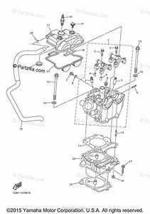 Yamaha Motorcycle 2016 Oem Parts Diagram For Cylinder