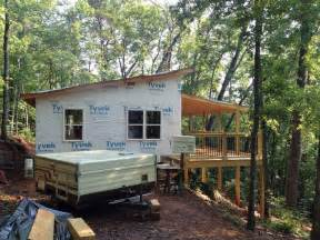 Surprisingly Shed Roof House Design by 20 X 24 Shed Roof Cabin Soffits Shanty Building Tips