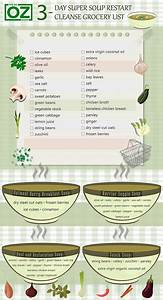 The 3-Day Super Soup Restart Cleanse Grocery List | The Dr ...