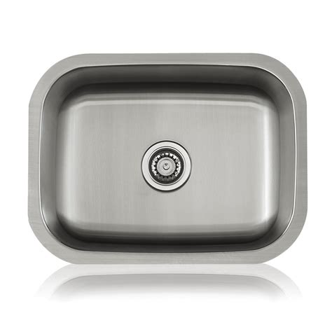 lenova kitchen sinks lenova ss cl s4 classic bowl single basin kitchen sink 3719