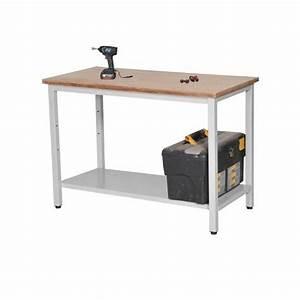 Etabli D Atelier : etabli d 39 atelier 120 x 60 cm equip rayonnage ~ Edinachiropracticcenter.com Idées de Décoration