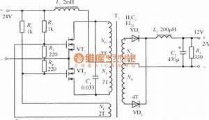 Mosfet Resonance Type Dc-dc Converter Circuit