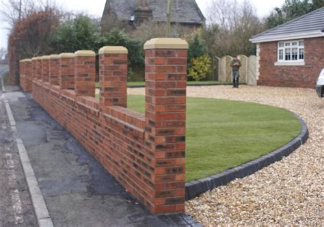 images of brick garden walls brickwork abel landscaping
