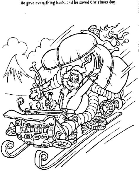 Grinch Kleurplaat by Grinch Coloring Pages Coloring Pages To Print