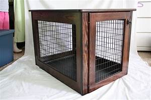 25 best ideas about diy dog crate on pinterest dog With amish wooden dog crates