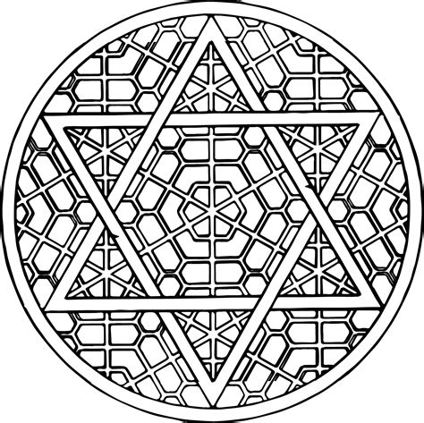 free mandala coloring pages for adults image 16