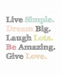 Cool Quotes To ... Cute Simple Life Quotes