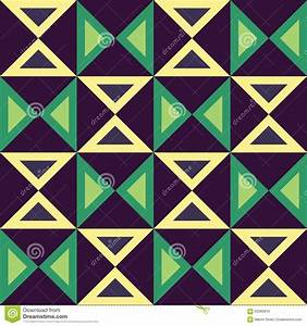 Vector Modern Seamless Colorful Geometry Triangles Pattern ...