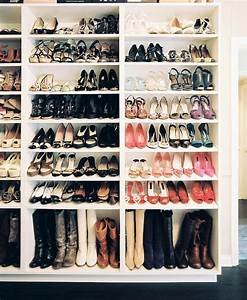 Shelves for Boots - Contemporary - closet - Lonny Magazine