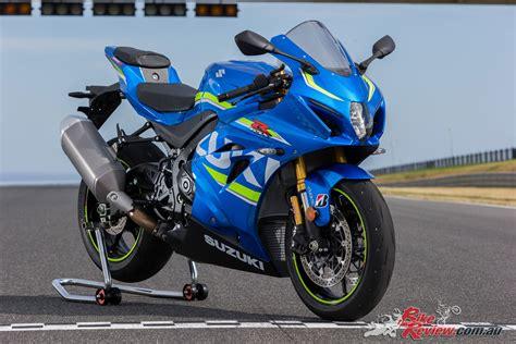 suzuki gsx rr arrives september  bike review