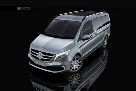 If you want that bit more stylistic flair, then you can go just a bit higher in price to the cla coupe, which is only a bit more. 3D model Mercedes-Benz V-Class 2019   CGTrader