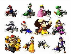 Mario Kart DS characters | Flickr - Photo Sharing!