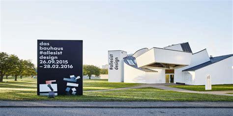 Vitra Design Museum öffnungszeiten by Vitra Design Museum The Bauhaus Itsalldesign Exhibition