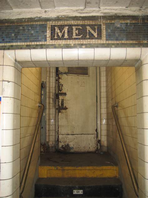 public bathrooms   york city ephemeral  york
