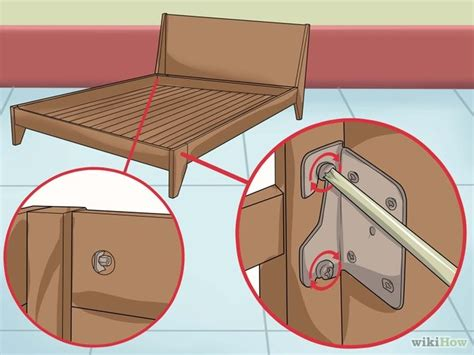 how to fix a squeaking bed frame