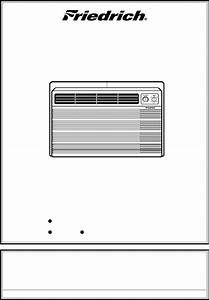 Friedrich Air Conditioner Ue10 User Guide