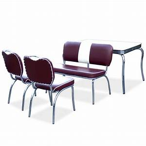 American Diner Einrichtung : american diner essgruppe tisch bank sessel st hle f 4 ~ Sanjose-hotels-ca.com Haus und Dekorationen