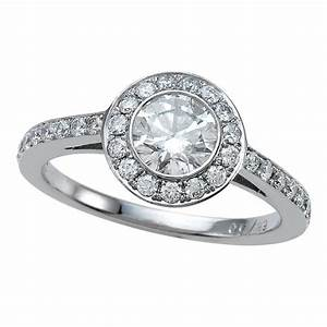 low profile halo weddingringscom With low profile wedding ring