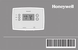 Honeywell Rth221b1039 Operating Manual
