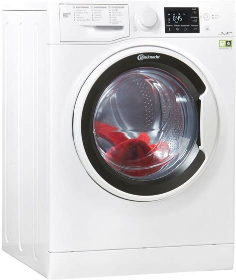waschmaschine mit kurzprogramm bauknecht waschmaschine eco 7418 7 kg 1400 u min