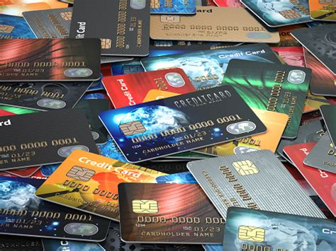 They also look at your credit history, credit » more: Pile Of Colored Credit Cards Background Stock Photo - Download Image Now - iStock