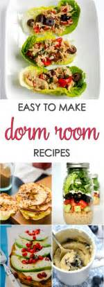 15 Easy Dorm Room Recipes  It Is A Keeper
