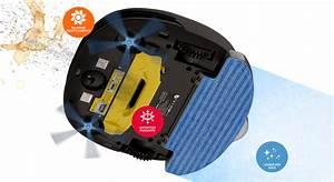 aspirateur robots laveurs eziclean sweepy With aspirateur robot et laveur sols durs tapis et moquette