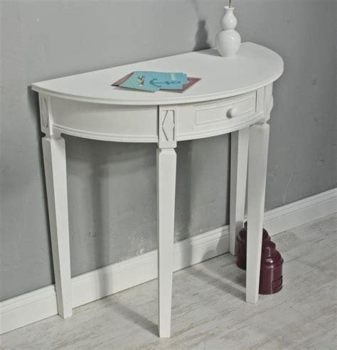 Kleine Weiße Tische by Tisch Wei 223 Halbrund Landhaus
