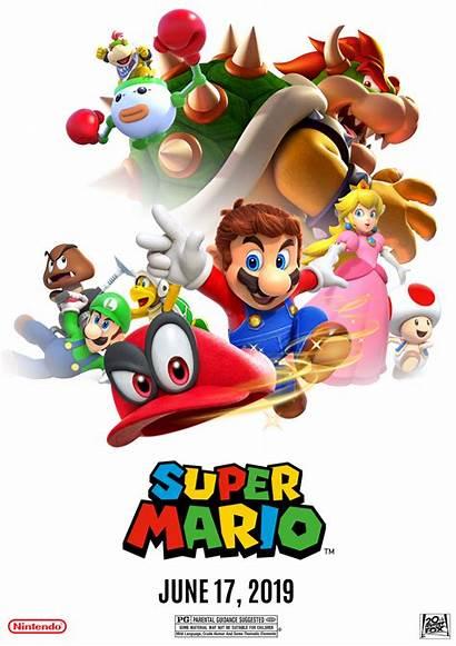 Mario Movie Poster Deviantart Fan