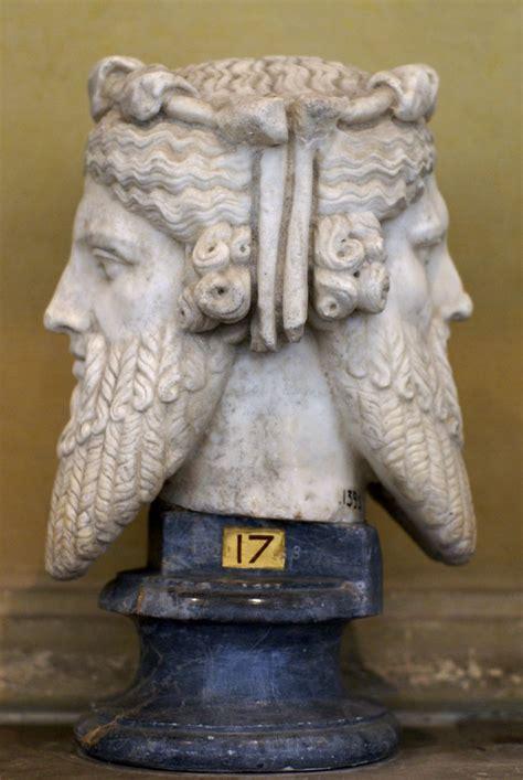 vatikanische museen museo chiaramonti januskopf janus