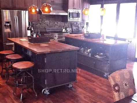 industrial kitchen island vintage industrial kitchen island antique cart utility