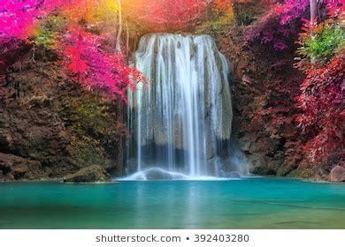 beautiful waterfall images stock  vectors