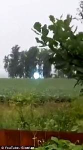 YouTube video shows luminous 'UFO' light up the sky in ...