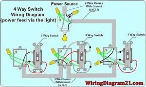 4 Way Light Switch Wiring Diagram  With Images