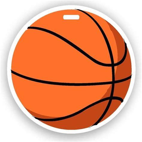 mysafetag basketball emoji luggage tag