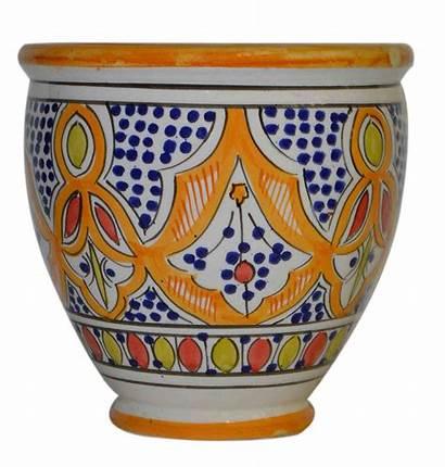 Ceramic Pots Moroccan Planters Pot Flower Garden