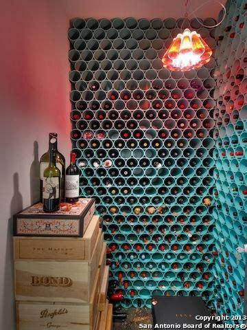 wine rack   painted pvc pipe genius la casita en