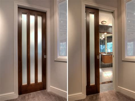 Contemporary Home Featuring Interior Pocket Doors  Sun. Stained Glass French Doors. Best Garage Cabinets. Automatic Garage Door Prices. Lowes Garage Door Installation Cost