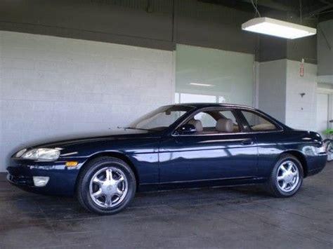 lexus sc300 2004 find used 2004 lexus sc430 red convertible 2 door in