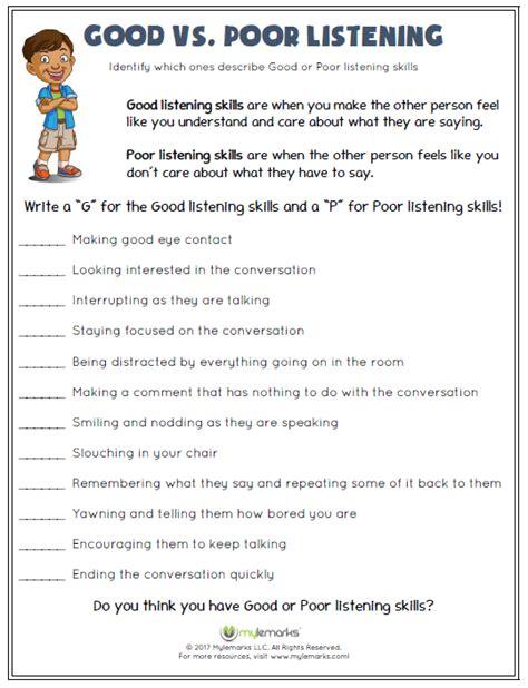 Social Interactions Worksheets