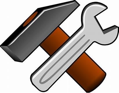 Tools Clip Clipart Clker Svg